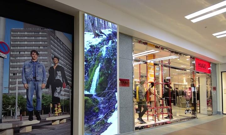 Embedded thumbnail for Светодиодные экраны для торговых комплексов